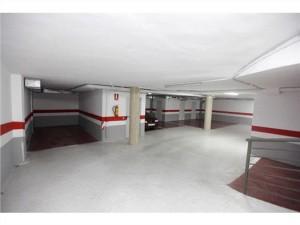 Suelo epoxi en garaje